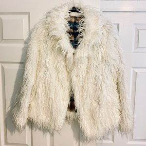 Super Cute Free People Shaggy Jacket!